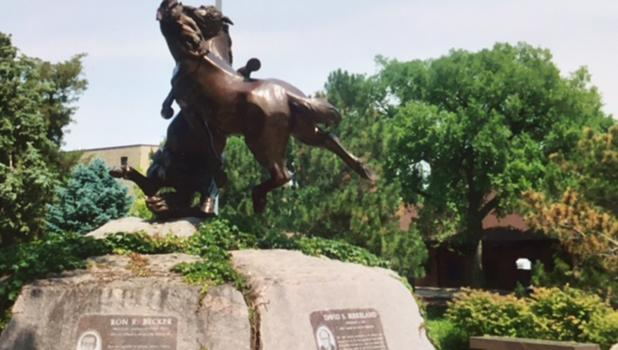 The memorial to all eight men is in Pierre, South Dakota.