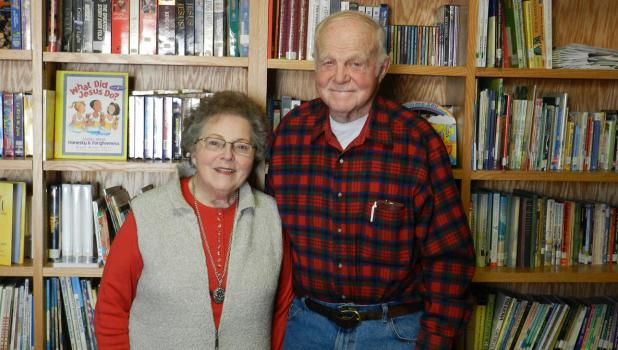 Darol and Marilyn Melby spend much of their time since retirement volunteering in the Bagley and area communities, which earned them the title of 'Outstanding Senior Volunteers' for Clearwater County in 2016.