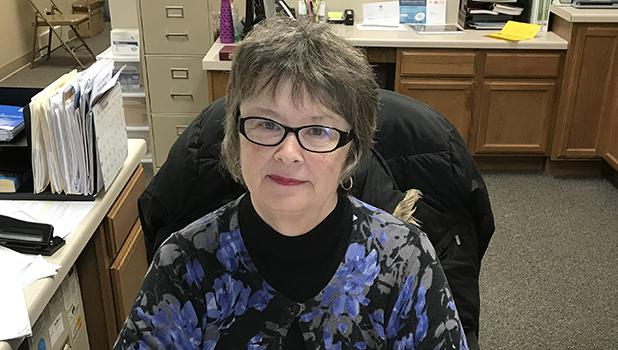 DonnaRae Jacobson retires from her job at Dr. Beard's Dental Clinic in Clearbrook.
