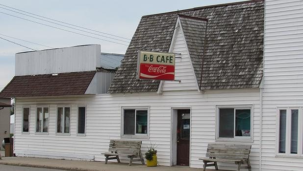 The B-B Cafe on the Main Street in McIntosh. There will be a Public Meeting on Monday, August 29th to discuss the future of the restaurant and the responsibility of the City of McIntosh to the success or failure.