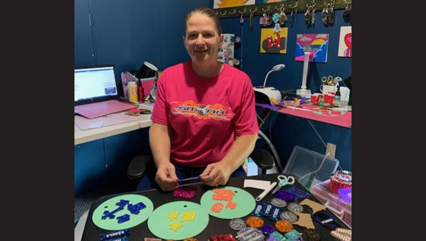 Robin Proffit's summer turns into craft time.