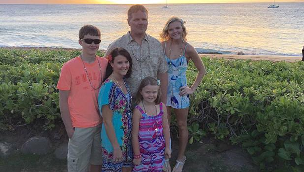 Rick and Sue Ann Sjulestad, along with their children, took this family photo at a luau in Maui, Hawaii, in March of 2015. Sue Ann says the cost to travel to Hawaii has really dropped in the last few years. To inquire, refer to her contact information in the above article.