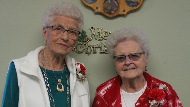Doris Cleven and Marian Franzman.