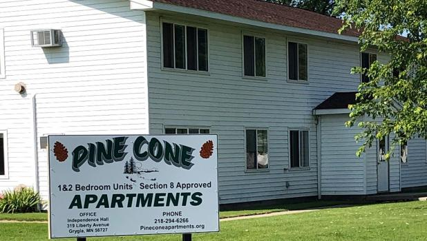 One of the duplexes in town. Photos courtesy of Dave Hunter