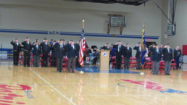 Local Veterans honored.