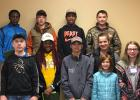 Those 4-Hers in attendance were back row Obadiah Hammer, Wyatt Anderson, Jaquincy Hammer, Paul Ramsrud front row Jessie Anderson, Meosha Hammer, Rem Auforth, Riley Auforth, Isabella Wormboled, Aubrey River. Submitted by Paul Ramsrud Woodside Workers 4-H Club
