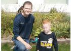 Bakken's:  owner Jeremy Bakken and his son Lucas.