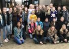 The Clearbrook-Gonvick Bears Girls basketball players