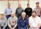 Gully Tri-Coop Association board members: Front row: President David Olson, Director Lon Vettleson, General Manager Russ Crawford, Director Cory Carlson. Second row: director Paul Rydeen, Sec/Treas Steve Hughes, Director Trent Dyrdahl, VP Dean Hanson.
