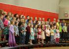 The kindergartner's and 1st Graders performed at the Elementary Concert at Win-E-Mac School on Monday, May 18th.