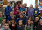 Mrs. Susan Lee with her last group of School Readiness students. She will be retiring from RLCC after this school year.