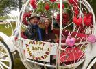 Dean and Tresa Knutson, celebrated their 30th Wedding Anniversary last week got a sweetheart carriage ride in rural Clearbrook Sunday.