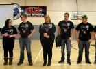 Red Lake County Central Robotics team went to State Competition. Pictured are Angel Aumun, Lynsey Morris, Brandon Lee, Dede Walton, Kyle Gagner, Alec Castaneda, and Nick Plante.