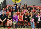 RLCC Girls Basketball held a Gratitude Night where players and coach's each honored one person who had impacted their life and they were thankful for.