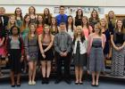2015-16 members of the Minnesota Association Honor Societies from RLCC are (back row) Seth Johnson, Samantha Smith, Holly Vettleson, Miranda Magnell, Austin Waliser, Asia Davis, Shelby Haugen, Kayla Olson, Mr.  Bryan Paskvan who is the advisor, (middle row) Mary Auman, Taylor Bushelle, Tera Qualley, Shelby Gunderson, Nikki Schmitz, Ashley Longtin, Kelsie Sirjoid, Natalie Aakhus, Megan Berberich, (front row) Erin Jones, Sydney Melby, Jayden Fore, Matt Vettleson, Hannah Kolstoe, and Katie Olson.