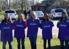 RLCC 11th graders Megan Berberich, Nikki Schmitz, Kelsie Sirjord, Angel Auman and Ashley Longtin finished in seventh place at the Minnesota State Envirothon competition. They were coached by Mr. Strutz.