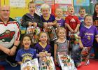 Grygla kindergarten class with their teacher Travis Smith. Photos submitted.