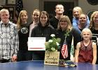 Front from left: Crissy Otting, Katie Becker 4-H Program Coordinator, Kyra Jogenson. Back from left: Colton Jorgenson, Katrina Evenwoll, Kirah Otting, Kaleb Tronnes, Brooke Haman, Briann Tronnes, and Sarah Reichert.