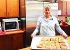 Sheryl Severson is the new cook at the Clearbrook-Leonard Senior Center.