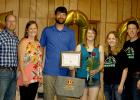 Pictured (l to r): Justin and Karen Phillips, which are the Agassiz ambassadors from Wilkin County for the Emerging Leadership Program for 2020, Ben and Mikayla (Miller) Tabert, who will be representing Red Lake County Emerging Leaders for 2020 and Chris and Valerie Shulstad, Emerging Leaders for Red Lake County for 2018.
