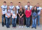 2015 Homecoming senior class King and Queen candidates include (left to right) Austin Waliser, Sami Smith, Wyatt Waldal, Kayla Olson, Devin Lambert, Miranda Magnell, Marcus Christensen, Morgan Bushelle, Seth Johnson, and Asia Davis. Coronation will be at 8:45 am Monday, October 5 in the high school gymnasium.