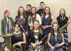 Instrumental: (Row 1)  Aries Qualey, Bailee Burcham, Clarissa Neste; (Row 2)  Katelyn Sanden, Alaina Juve, Carlie Sander, Lily Breckel, Tapanga Bratager; (Row 3)  Dylan Cabrales, Joey Revier.