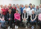 Thief River Falls RSVP Bone Builder Exercise Class trainers and participants recently gathered to commemorate and recognize National Senior Corp Week.