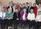 Former First Ladies for Clearwater  are shown in the front row:  Marilyn Stinar, Alice Gunderson, Donna Rae Jacobson, (present First Lady) Lois Hoie, Vivian Torkelson, Lillian Sauer. Standing from left to right: Lila Strandlien, Ardis Thompson, Eileen Lien, Linda Kaul, Marilyn Melby, Adeline Beltz, Ardella Lindberg, Dee Strandlien, Crystal Schmitz, Darlene Sawyer, Betty Johnson and Shirley Gunderson.