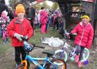 Gonvick Pumpkin Day bike winners were Aiden Ehlers and Sydney Ramsrud.