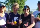 Oklee Pickleball Advisory Board (left to right) Mary Lynn Bachand, Bobbie Olson, Tracy Hamm and Dave Olson, President.