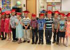 Mrs. Beckstrand's class from left to right: Kylee Paulson, Malea Mathson, Erika Lindenfelser, Jaret Larson, Sydney Laite, Carver Kroulik, Makenzie Holmstron, Colton Hammons, Trey Goudge, Dawson Gazelka, Mya Engen and Daisy Bjerke.