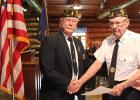 Harlow Berg received a certificate for 60 years of membership in the Gonvick American Legion Post #304. The Certificate was signed by Dale Barnett, Legion National Commander, Daniel S. Wheeler, National Adjutant and Gonvick Legion Commander LeRoy Sundquist.