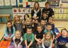 Julie Johnson, March Teacher feature for Clearbrook-Gonvick with her Kindergarten class.