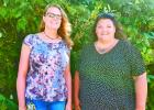 This picture is a picture of Administrative team for Pine Ridge On left is Robin Beck Office Manager and Jessica Horn Executive Director. Rounding out the tam but not pictured is Jennifer Skansberg contracted fiscal officer