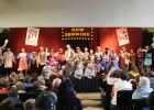 Win-E-Mac Community Education along with Children's Prairie Fire Theater, a professional touring theater company based in Barrett, Minnesota, presented a rollicking rendition of Sleeping Beauty on Friday, April 10th. The cast consisted of elementary students at Win-E-Mac who spent the week perfecting their lines and learning the play.