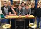 Students pictured are Tyler Weems, Ethan Dorman, Damen Bakke, Hunter Ehlers, Andrew Jourdain, Levi Nelson, Branden Quern and Preston Olson.
