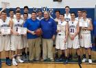 Win-E-Mac Boys' Basketball Coach Vern Johnson scored another milestone last Tuesday as the Patriots won over Norman County West, making it Coach Johnson's 500th career win! Congratulations to Coach Vern Johnson and the Patriots Boys Basketball team.