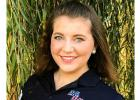 """Whitney Pittman works at R & J Broadcasting in Ada doing the Ag Show each Wednesday and feels very blessed. """"I work in journalism everyday, the field I went to school for. I talk to farmers everyday. I grew up with radio - then it was Paul Harvey in the morning. Now it is the Miller Minute and Tom Lano."""""""