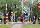 Plummer Park was the setting for the annual Plummer Memorial Day services. Plummer Legion Commander David Eskeli presided over the program.