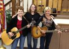 Carole Tharaldson, Tanya Tharaldson and Robin Norgaard Kellehe will be playing in Gully July 18.