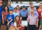 The Erie Family received the Century Farm distinction at the Clearwater County Fair.