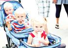 The Grabowska triplets stayed cool with freezies! They are the children of Scott and JoLynn Grabowska.
