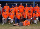 Sue's Beauty Shop placed 1st in the Men's Softball Tournament at the Grygla Fall Festival on Sunday, August 26th. This was the 20th year the team has been playing. They have placed 1st a total of eight times! Photo courtesy of Jamie Aune