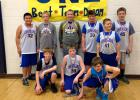 GG 6th graders took home 2nd place at the Argyle basketball tournament over the weekend. Front row, L-R: Nick Groven, Nolan Anderson, Andrew Loken. Back row: Jordan Coan, Mason Laidley, Avery Moe, Tucker Verbout, Justin Thompson and Clayton Suchoski. The boys play in another basketball tournament this weekend in Goodridge; games start at 9am and are for GG 5-6 graders.