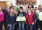 Roseau County 4-H thanked all the Roseau County 4-H Volunteers for all their hard work and dedication to the 4-H Program. Included was Colette Brobst, Grygla Go-Getters 4-H Club volunteer. She is pictured in row 2, second from the left.
