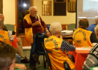 Wannaska Lion Jerry Solom spoke and showed slides of his sailing adventures at the recent meeting! Photo submitted