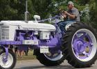 One of the parade winners was Best Tractor: Cure for Cancer – George Olson.