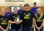 The Iron Chargers Team 4149C were named the Robot Skills Champions last Saturday in Albany, MN. Trystan Jelle, Abby Kiesow, Jake Ahlbeck and Elise Monson make up the team.