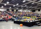 Look at that crowd in St. Cloud at the MN State VEX Robotics Tournament last weekend!