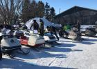 25 sleds were entered in the show.